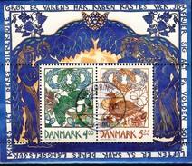 #Denmark 1999. Spring. Bloc. Michel 11. Cancelled (o)