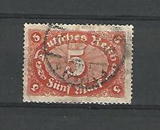 1921 / 22 N° 151  DEUTFCHES REICH 5 OBLITÉRÉ DOS CHARNIÈRE - Germany