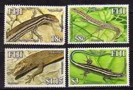 Fiji 2006 Mokosari Skinks In Fiji.Fauna/Reptiles/Lizards.MNH - Fiji (1970-...)