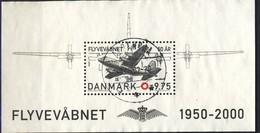 #Denmark 2000. Air Forces. Bloc. Michel 15. Cancelled (o)