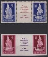 RO 513 - ROUMANIE N° 1677/80 Neufs** Anniversaire De La Victoire - Neufs