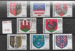 Armoiries - Tchécoslovaquie Entre N°1750 & 2098 1969-75 O