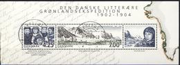 #Denmark 2003. Greenland Exspedition. Bloc. Michel 20. Cancelled (o)