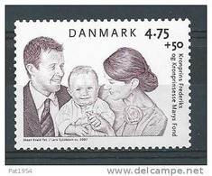 Danemark 2007 N° 1461  Neuf **  Surtaxe Pour Fondation Prince Frederik