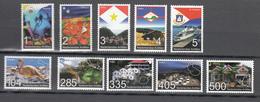 Netherlands Antilles 2007,10V,set,birds,vogels,vögel,oiseaux,pajaros,boat,ship,landscapes,MNH/Postfris(A3162) - Vogels