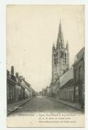 Poperinge  *  Eglise Notre-Dame Et Rue De Cassel - Poperinge
