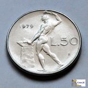 Italia - 50 Lire - 1979 - 1946-… : República