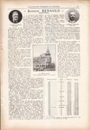 1923 - Iconographie Documentaire - Nancy (Meurthe-et-Moselle) - La Banque Renauld - FRANCO DE PORT - Old Paper