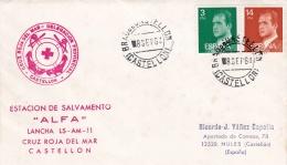 Spain Cover P/m Castellon 1984 Red Cross  (T9A10)