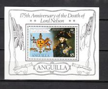 Anguilla1981.1V In Block,Nelson,famous Persons,beroemde Personen,personnes Célèbres,,MNH/Postfris(A3166) - Onderzoekers