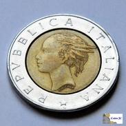 Italia - 500 Lire - 1991 - 1946-… : República