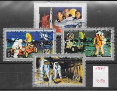 Espace Apollo 15 - Guinée équatoriale N°15 (4v) 1971 O - Unclassified
