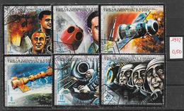 Espace - Guinée équatoriale N°26 (5v) & PA N°11 1972 O