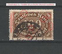 1921 / 22 N° 158 OBLITERE  DESCRIPTION