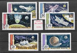 Espace Jules Verne - Hongrie PA N°309 à 314 1969 O