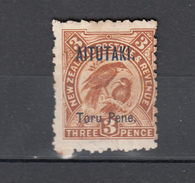 Aitutaki 1903,1V,birds,vogels,vögel,oiseaux,pajaros,uccelli,aves,see ScansUnused/Ongebruikt,(A3170) - Vogels