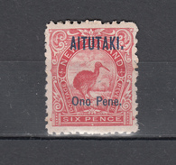 Aitutaki 1903,1V,birds,vogels,vögel,oiseaux,pajaros,uccelli,aves,see ScansMH/Ongebruikt,(A3171) - Vogels
