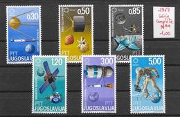 Espace Satellite - Yougoslavie N°1110 à 1115 1967 **