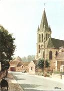 95  Val D'Oise  :   Nesles La Vallée   L' église    Réf 2698 - Nesles-la-Vallée