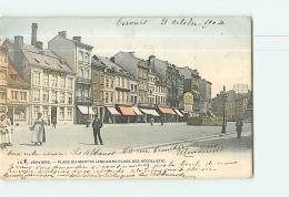 VERVIERS : Place Du Martyr, Ancienne Place Des Recollets. Dos Simple. 2 Scans. Edition Bellens - Verviers