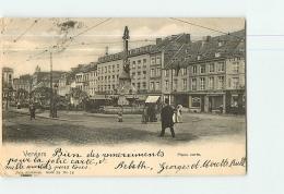 VERVIERS : Place Verte. Dos Simple. 2 Scans. Edition Nels - Verviers