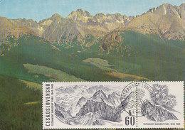 D29066 CARTE MAXIMUM CARD 1969 CZECHOSLOVAKIA - TATRANSKA MOUNTAINS CP ORIGINAL