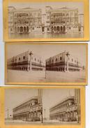 VUES  DE  VENISE  - 6  PHOTOS  STEREOSCOPIQUES -  VIEWS  OF  VENEZIA   ( Fin 1800, Début 1900) - Stereo-Photographie