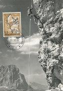 D29072 CARTE MAXIMUM CARD 1962 SAN MARINO - MOUNTAIN CLIMBING CP ORIGINAL - Climbing