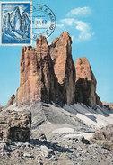 D29073 CARTE MAXIMUM CARD 1962 SAN MARINO - MOUNTAINS DOLOMITI CP ORIGINAL