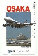 Giappone - Tessera Telefonica Da 105 Units T236 - NTT, - Avions