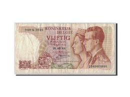 Belgique, 50 Francs, 1966, KM:139, 1966-05-16, B - [ 6] Tesoreria