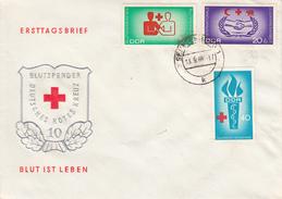 DFDC 1207-09 Blutspender - Deutsches Rotes Kreus - Blut Ist Leben, Senftenberg