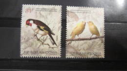 Macedonia Mazedonien 2015  MNH ** Ma 684-685 Birds