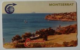 MONTSERRAT - Bay With Redonda - Specimen - $40