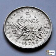 Francia - 5 Francs - 1970 - J. 5 Francos