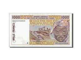 West African States, 1000 Francs, 2002, KM:711Ke, SUP - États D'Afrique De L'Ouest
