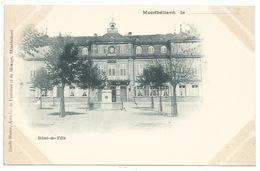 25 Montbéliard - Hotel De Ville - Carte Précurseur Avant 1900 - Montbéliard
