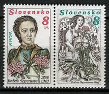 1996 - SLOVACCHIA -  Catg..Mi. 250/251 - NH - (I-SRA3207.48) - Slovacchia