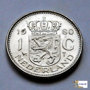 Paises Bajos - 1 Gulden - 1980 - [ 3] 1815-… : Reino De Países Bajos