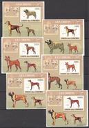 C83 2009 UNION DES COMORES PETS DOGS LES CHIENS 6LUX BL MNH