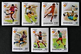 """ESPANA'82"" - NON-DENTELES NEUFS ** - YT 1059/61 + 1063/66"