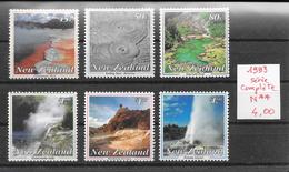 Géologie Thermalisme Volcanisme - Nouvelle-Zélande N°1228 à 1233 1993 **