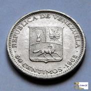 Venezuela - 50 Céntimos - 1965 - Venezuela
