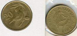 Chypre Cyprus 20 Cents 1983 KM 57.1 - Chypre