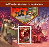 Guinea Bissau 2016, 100th Russian Revolution, Lenin, BF