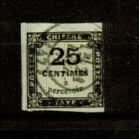 Frankreich / Portomarke. Ziffernzeichnung, Nr. P 5 Gestempelt - 1859-1955 Used