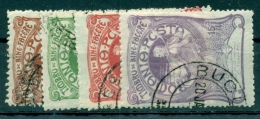 Rumänien, Königin Elisabeth Mit Handspindel, Nr. 161 - 164 Gestempelt - Gebraucht