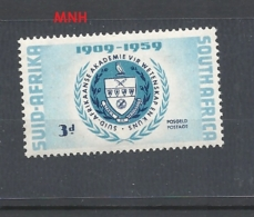 SUDAFRICA   1959 The 50th Anniversary Of South African Academy Of Science And Art, Pretoria MNH - Sud Africa (...-1961)