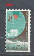 SUDAFRICA 1959 South African National Antarctic Expedition    MNH - Sud Africa (...-1961)