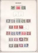 Belgique Taxe - Collection Vendue Page Par Page - Timbres Oblitérés / Neufs */** - B/TB